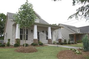 Habitat houses in Birmingham, Alabama, USA